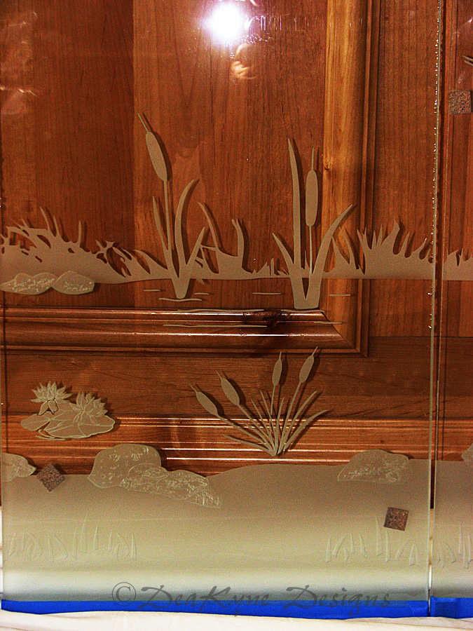 Texas Etched Glass San Antonio Etched Glass Austin Etched